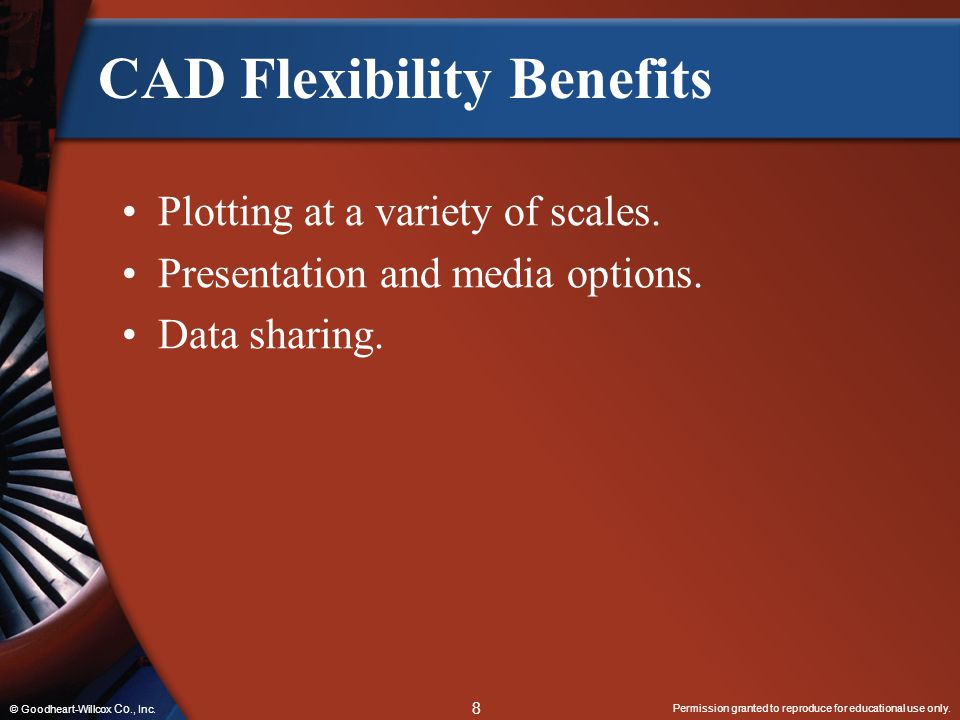 CAD Flexibility Benefits