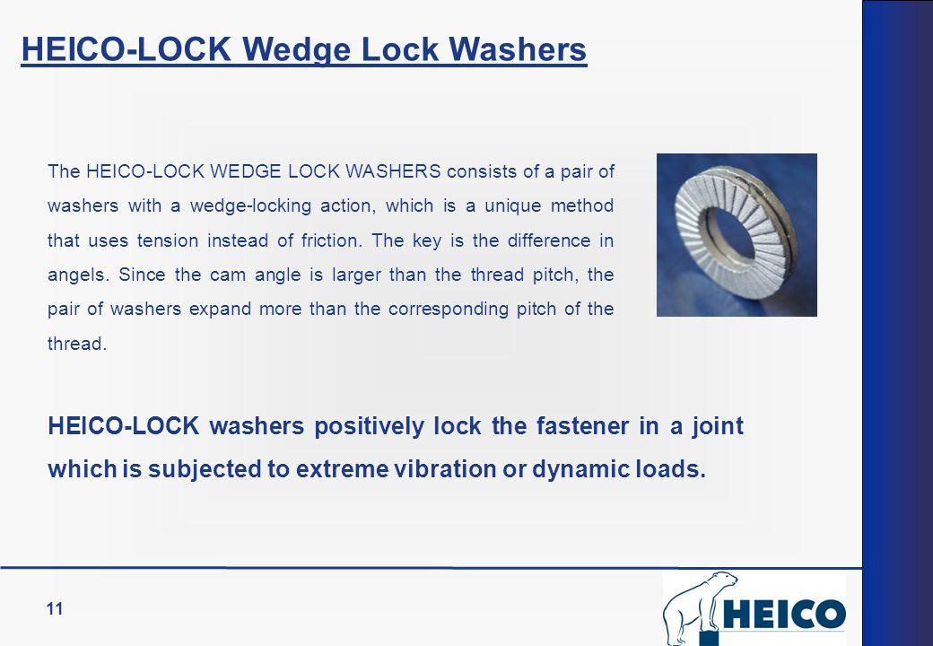 HEICO-LOCK Wedge Lock Washers