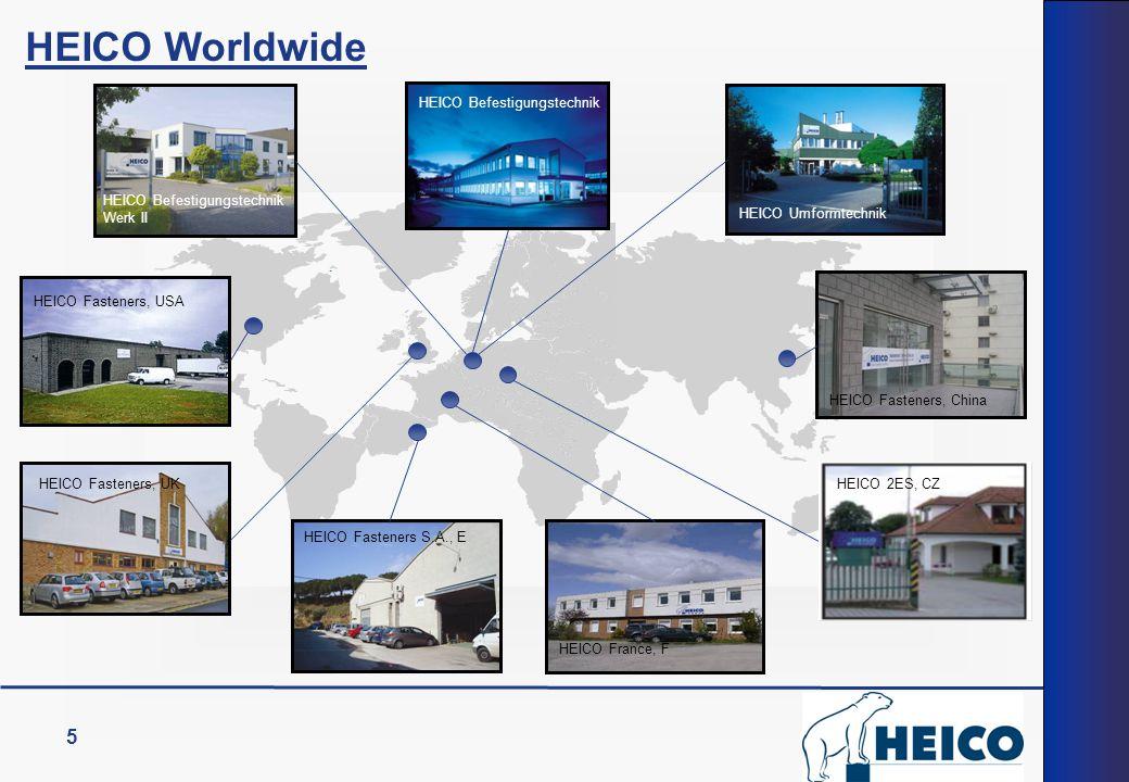 HEICO Worldwide 5 HEICO Befestigungstechnik Werk II