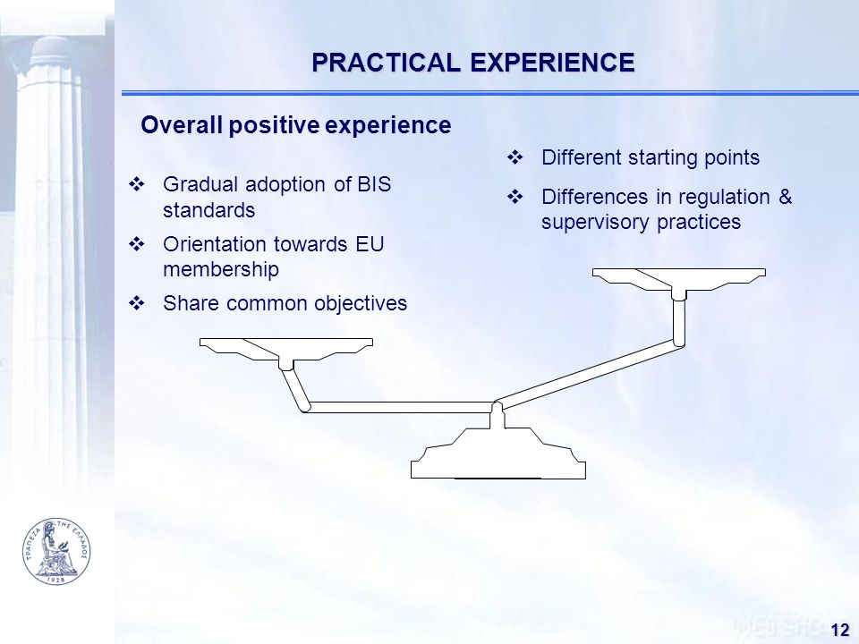 PRACTICAL EXPERIENCE Overall positive experience