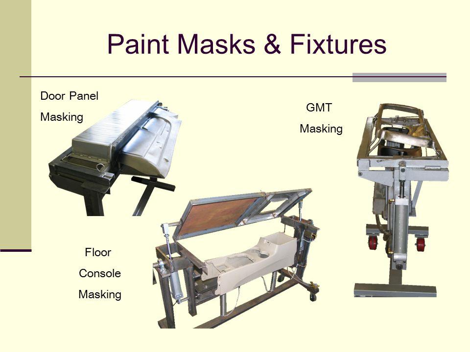 Paint Masks & Fixtures Door Panel Masking GMT Masking Floor Console