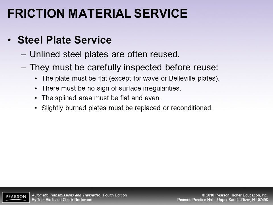 FRICTION MATERIAL SERVICE