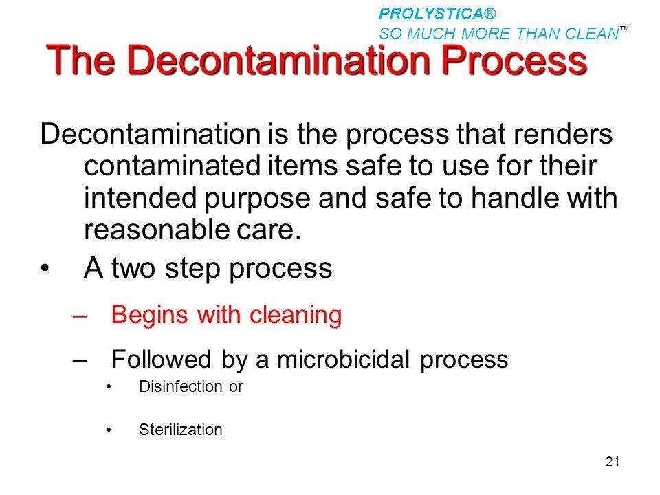 The Decontamination Process