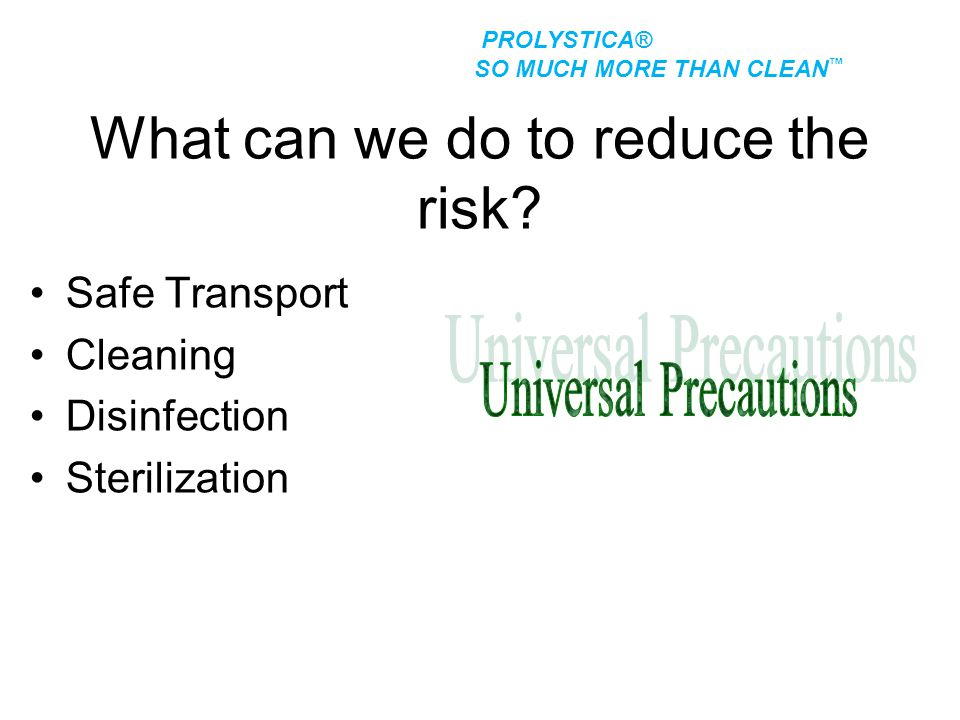 What can we do to reduce the risk
