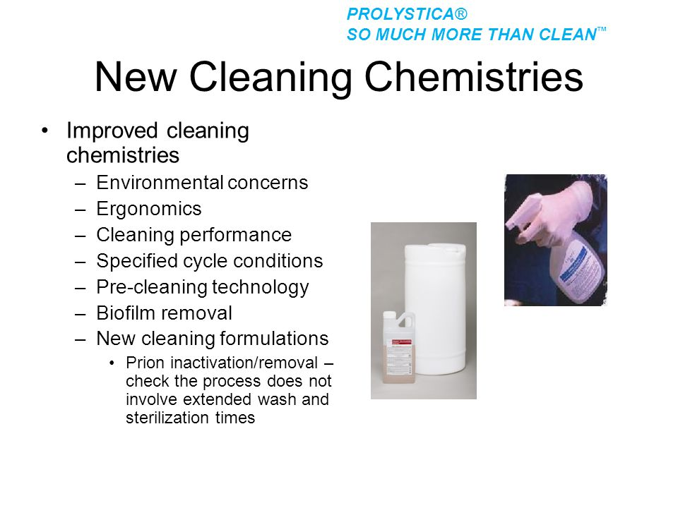 New Cleaning Chemistries