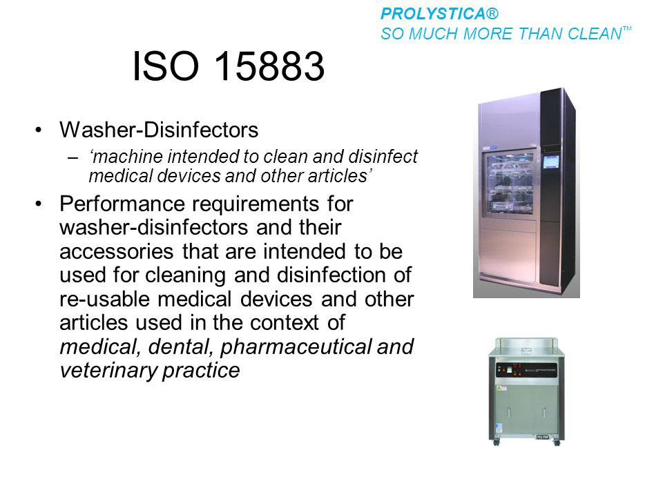 ISO 15883 Washer-Disinfectors