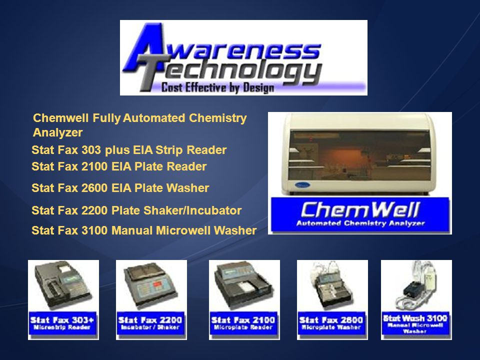 Chemwell Fully Automated Chemistry