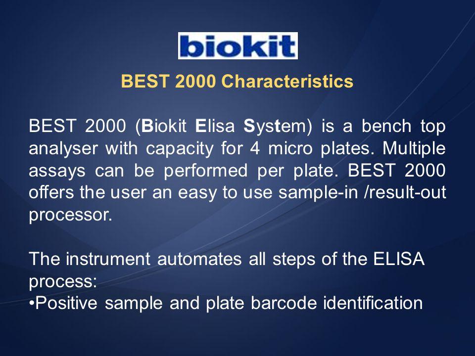 BEST 2000 Characteristics