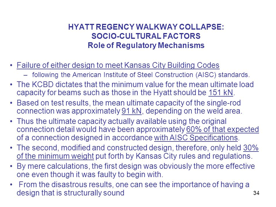 Failure of either design to meet Kansas City Building Codes