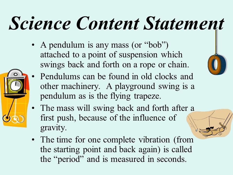 Science Content Statement