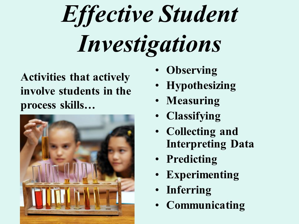 Effective Student Investigations