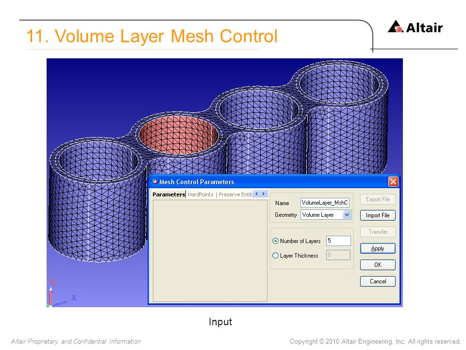 11. Volume Layer Mesh Control