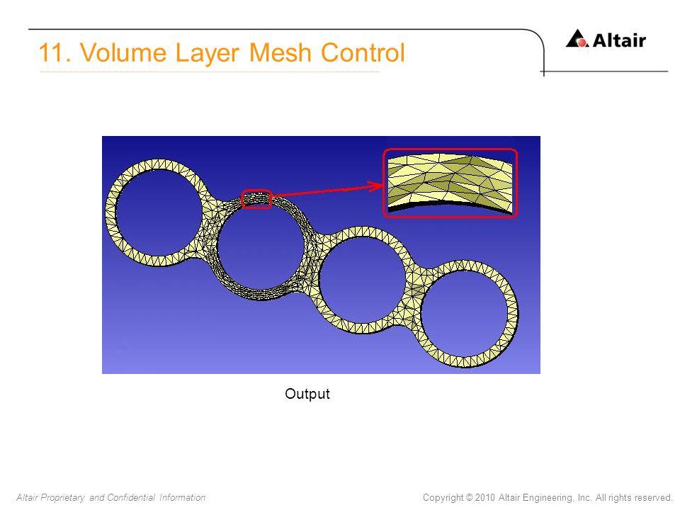 11. Volume Layer Mesh Control