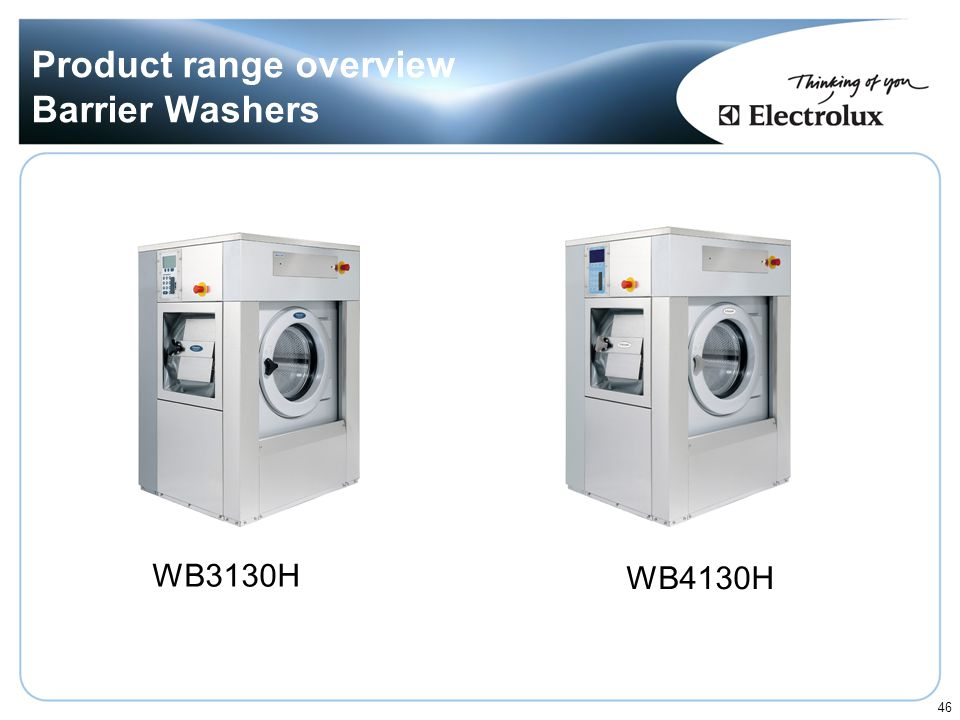 Product range overview Barrier Washers