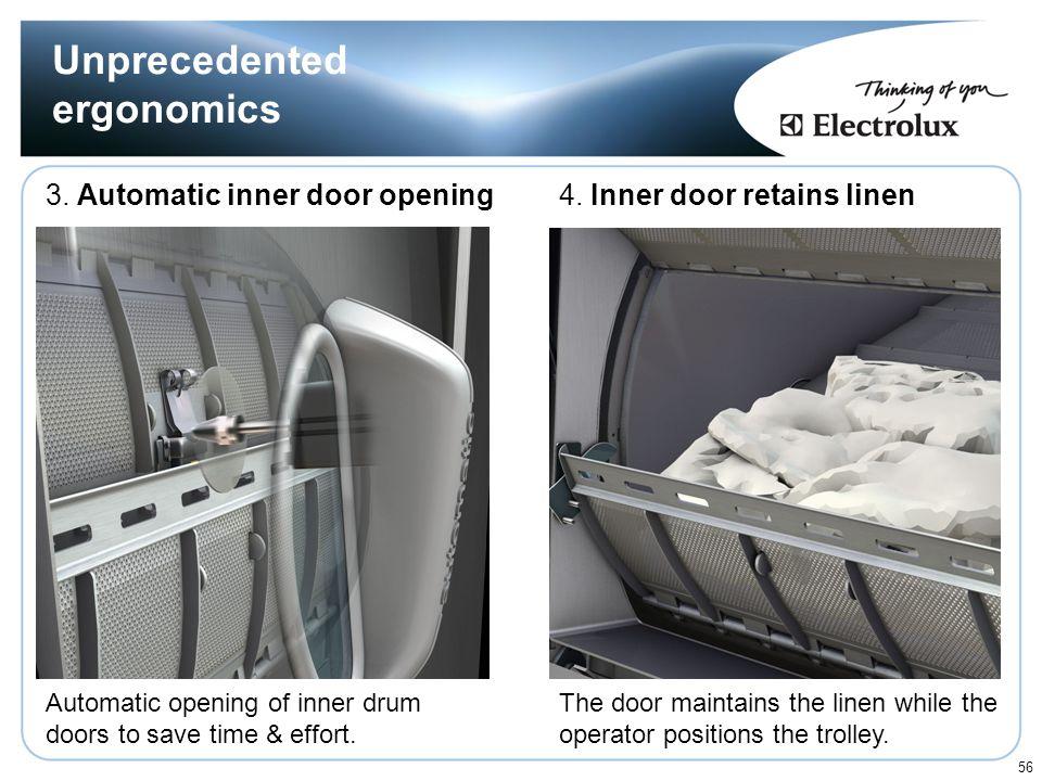 Unprecedented ergonomics