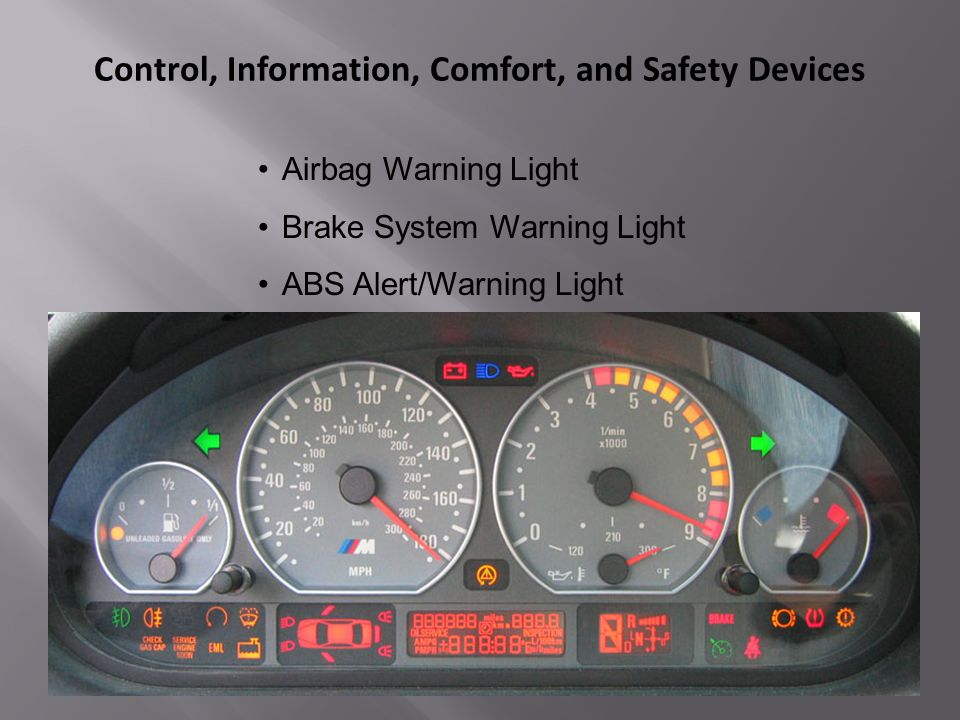 Locating And Operating Vehicle Controls Ppt Video Online