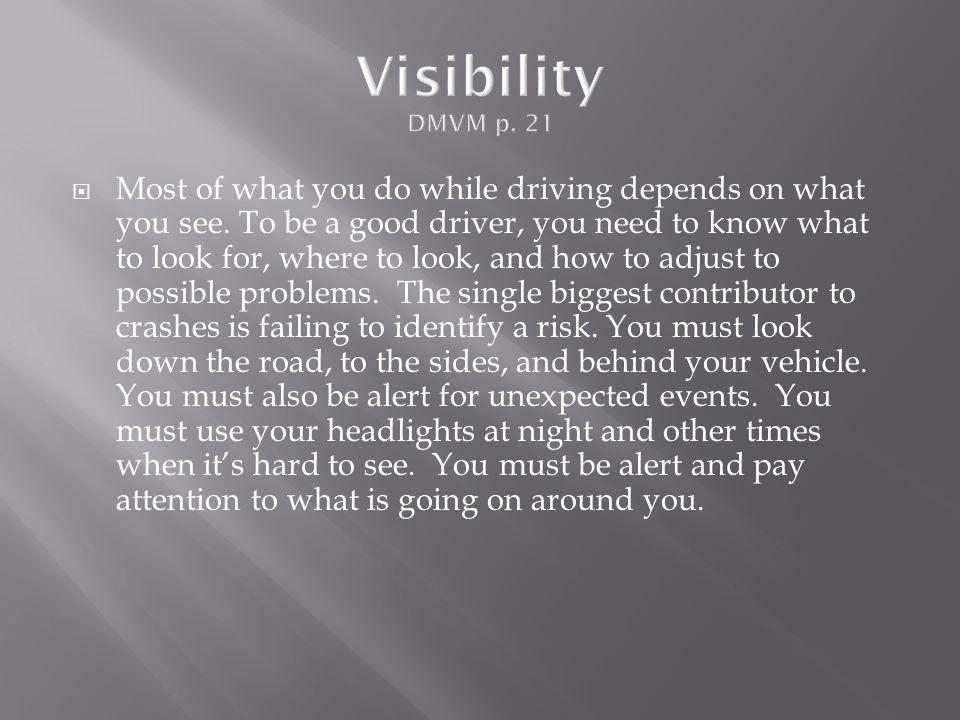Visibility DMVM p. 21