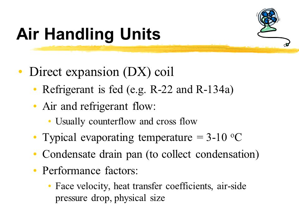 Air Handling Units Direct expansion (DX) coil
