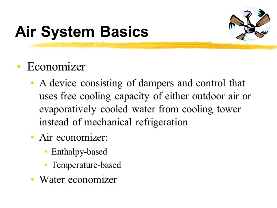 Air System Basics Economizer