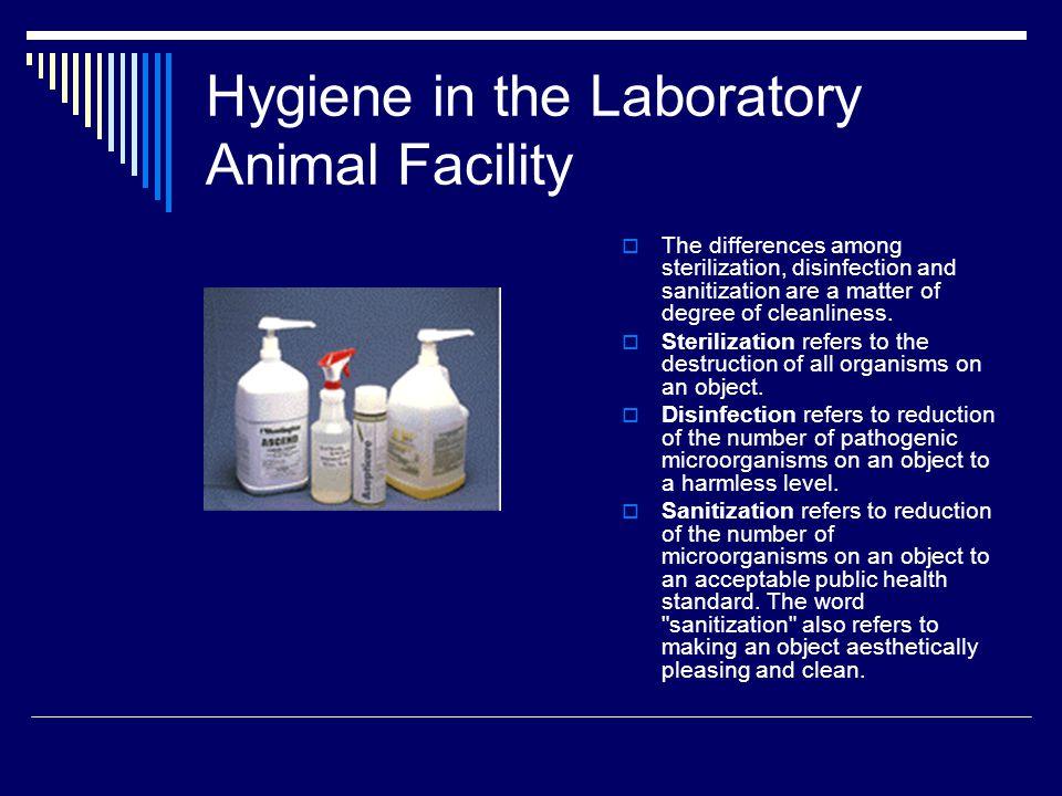 Hygiene in the Laboratory Animal Facility