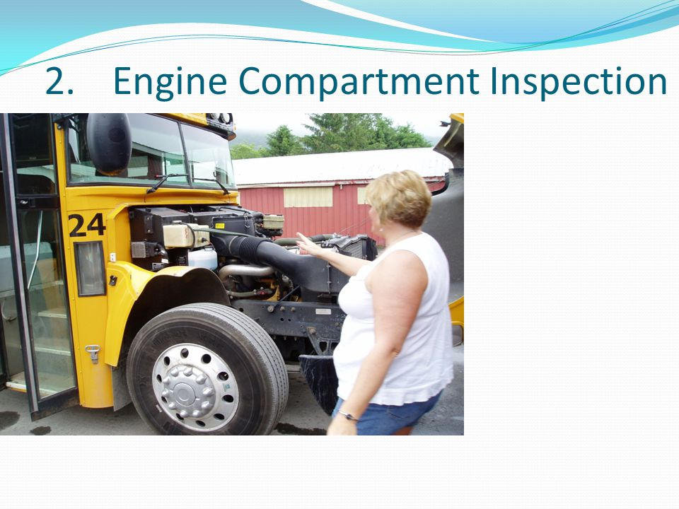 2. Engine Compartment Inspection