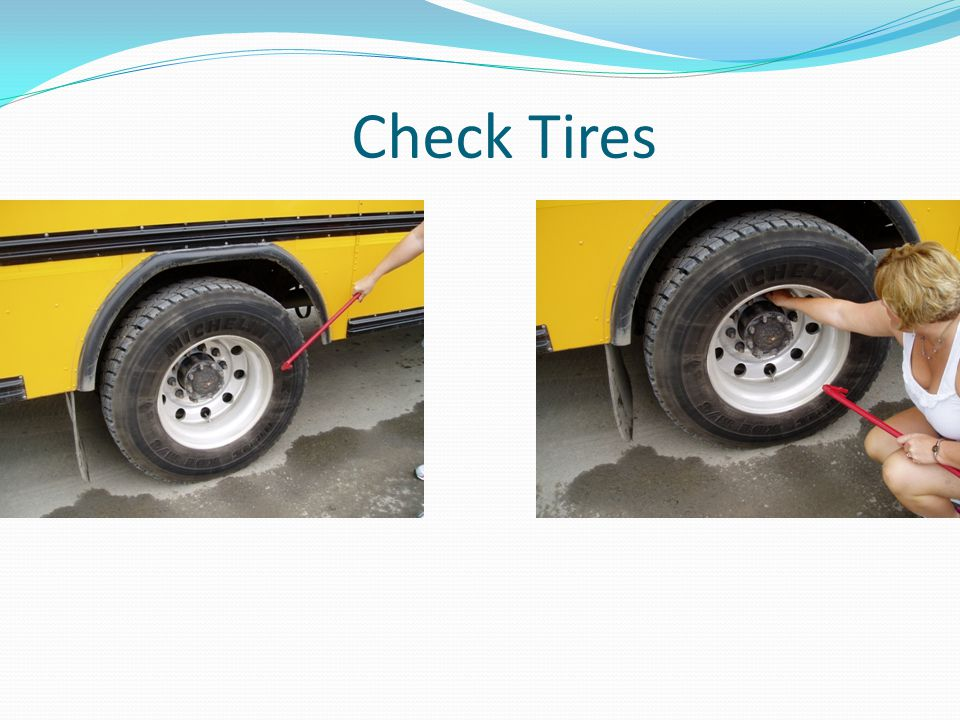 Check Tires Worn tires create balance and alignment issues as well.
