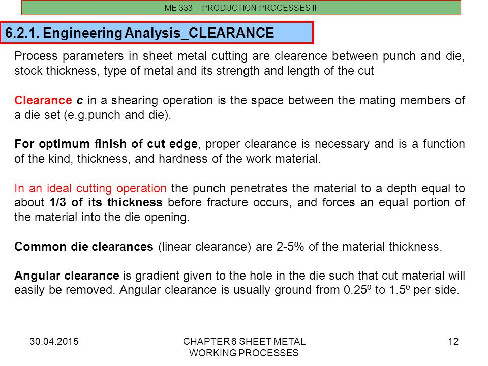 6.2.1. Engineering Analysis_CLEARANCE