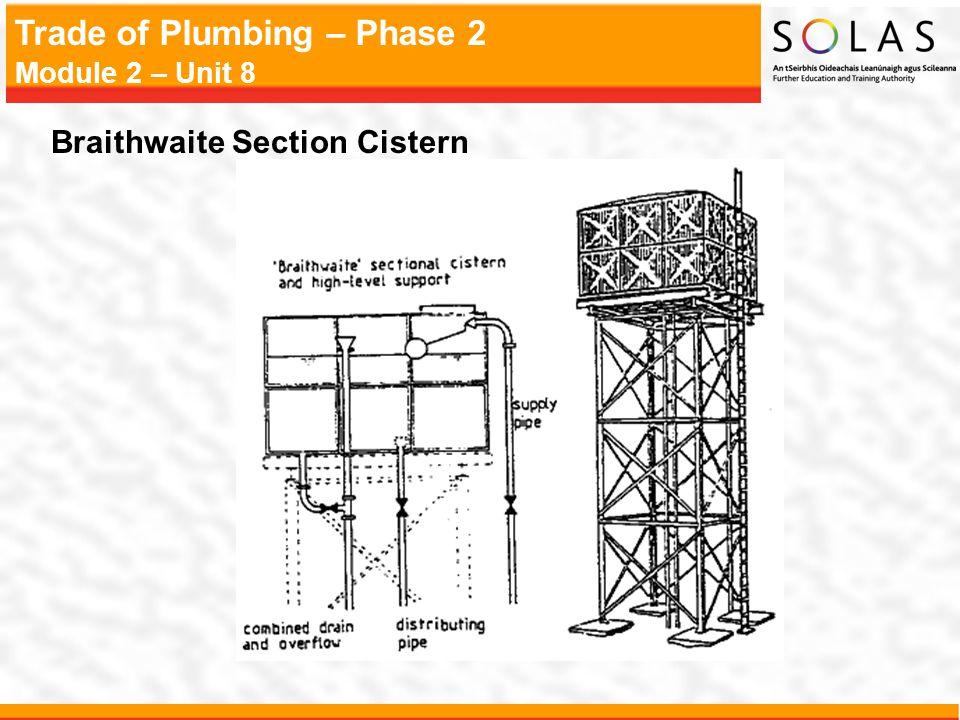 Braithwaite Section Cistern