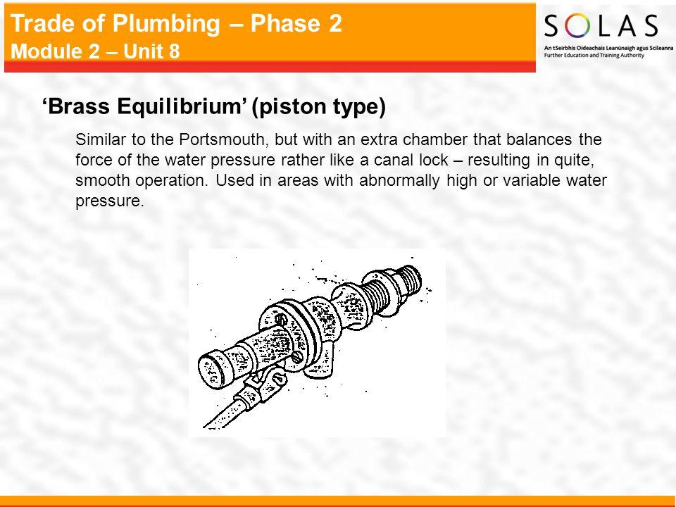 'Brass Equilibrium' (piston type)