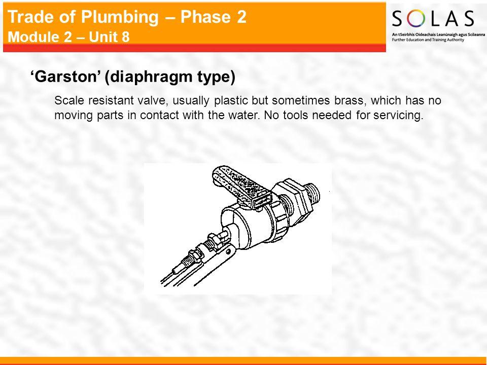 'Garston' (diaphragm type)