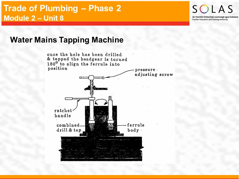 Water Mains Tapping Machine