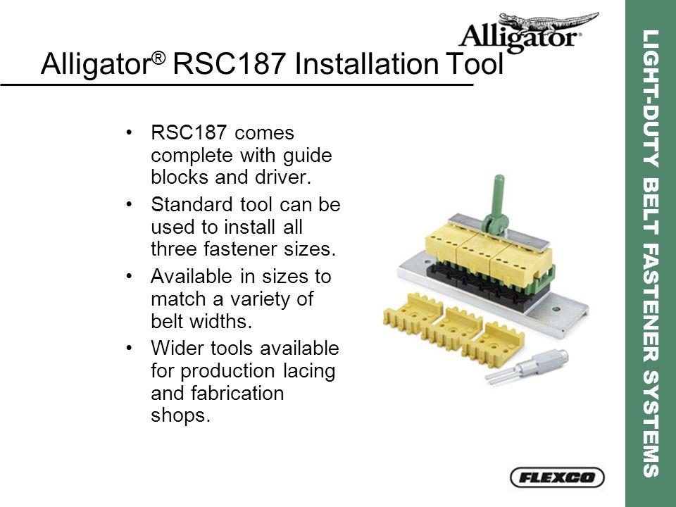 Alligator® RSC187 Installation Tool