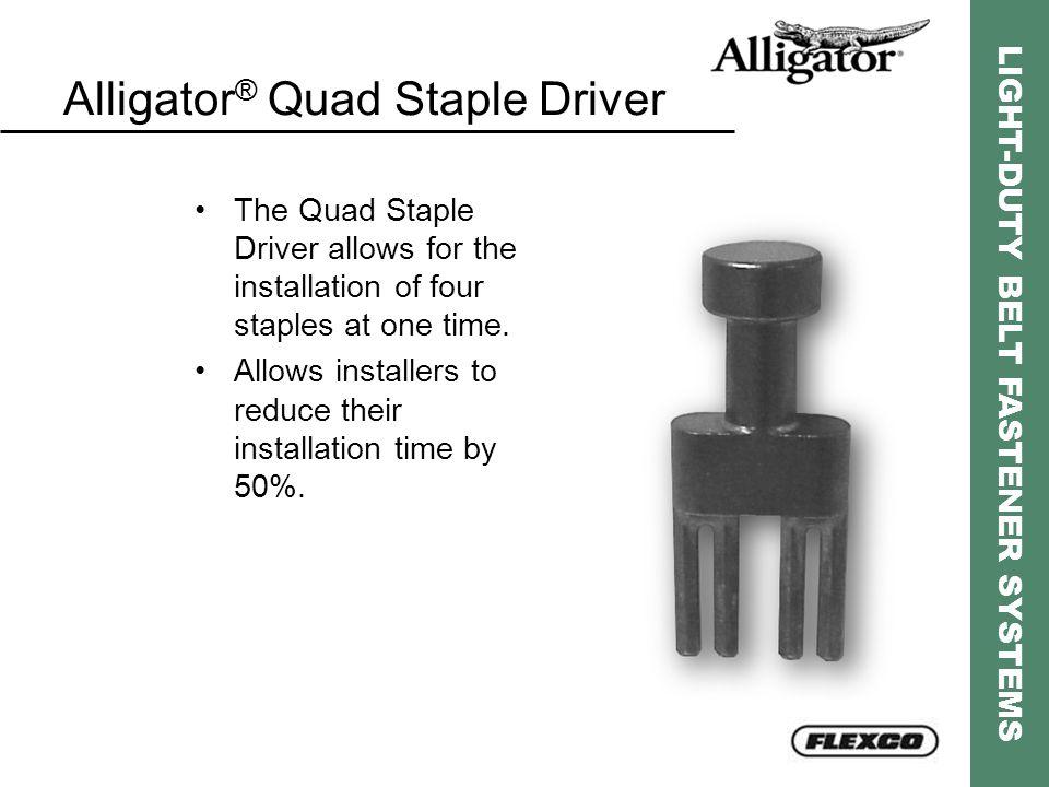 Alligator® Quad Staple Driver