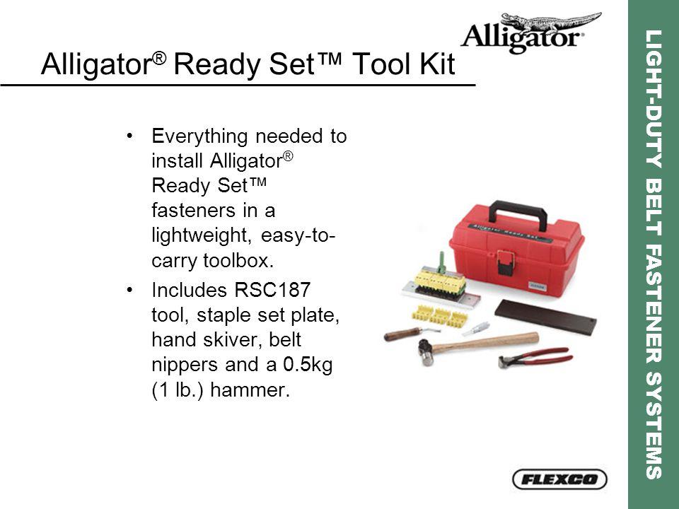 Alligator® Ready Set™ Tool Kit