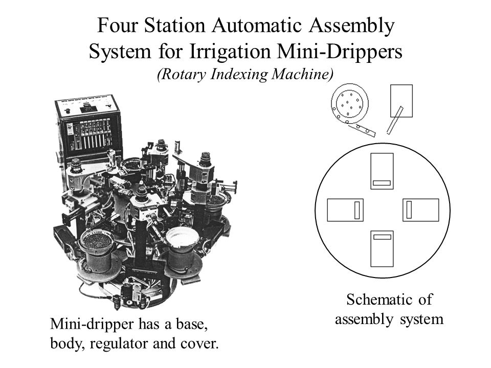 Schematic of assembly system