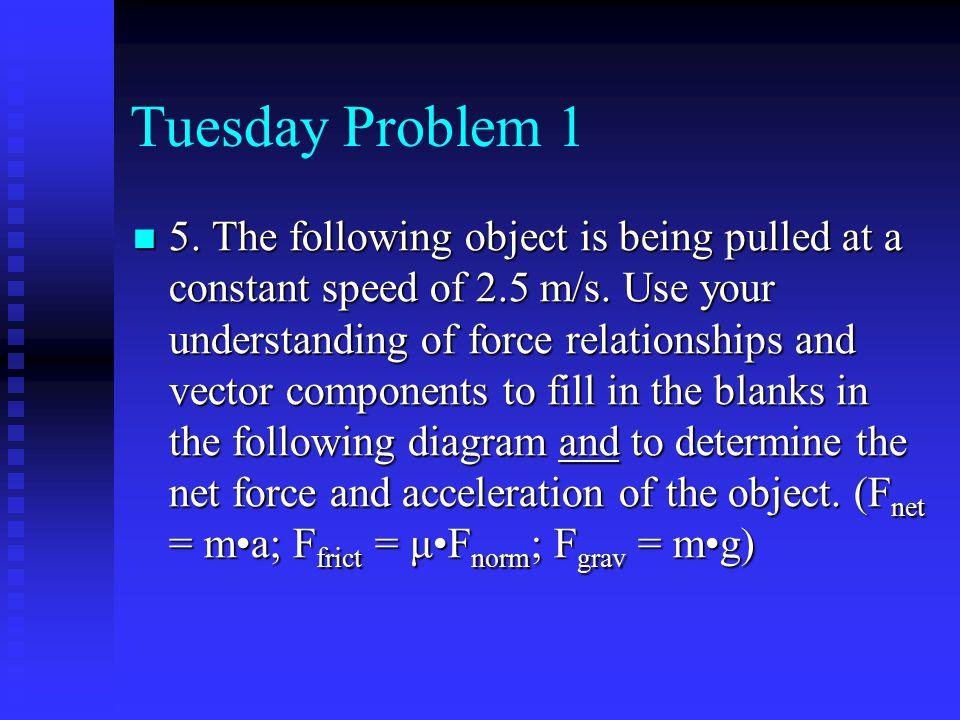 Tuesday Problem 1