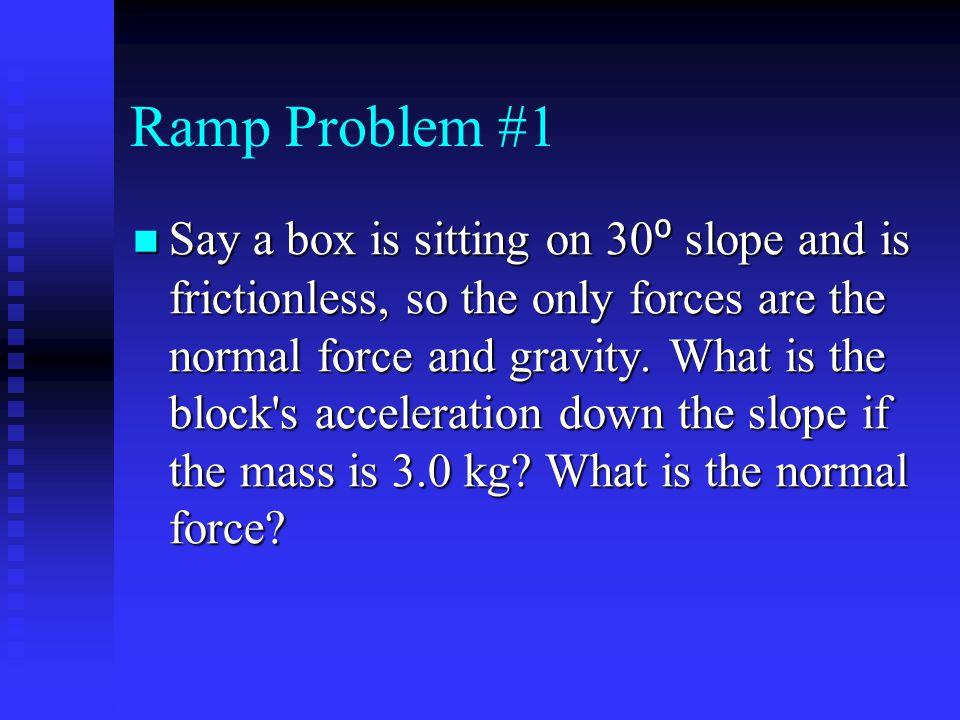 Ramp Problem #1