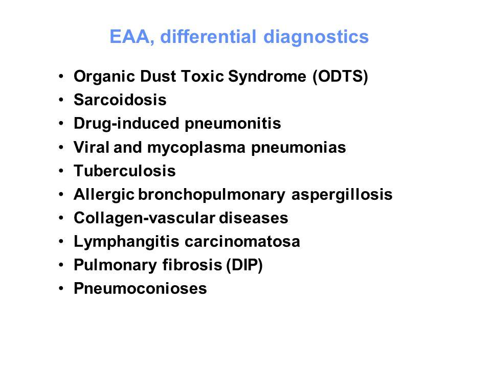 EAA, differential diagnostics