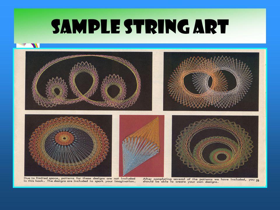 SAMPLE STRING ART