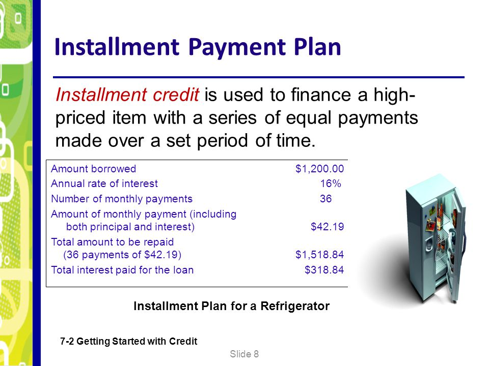 Installment Payment Plan