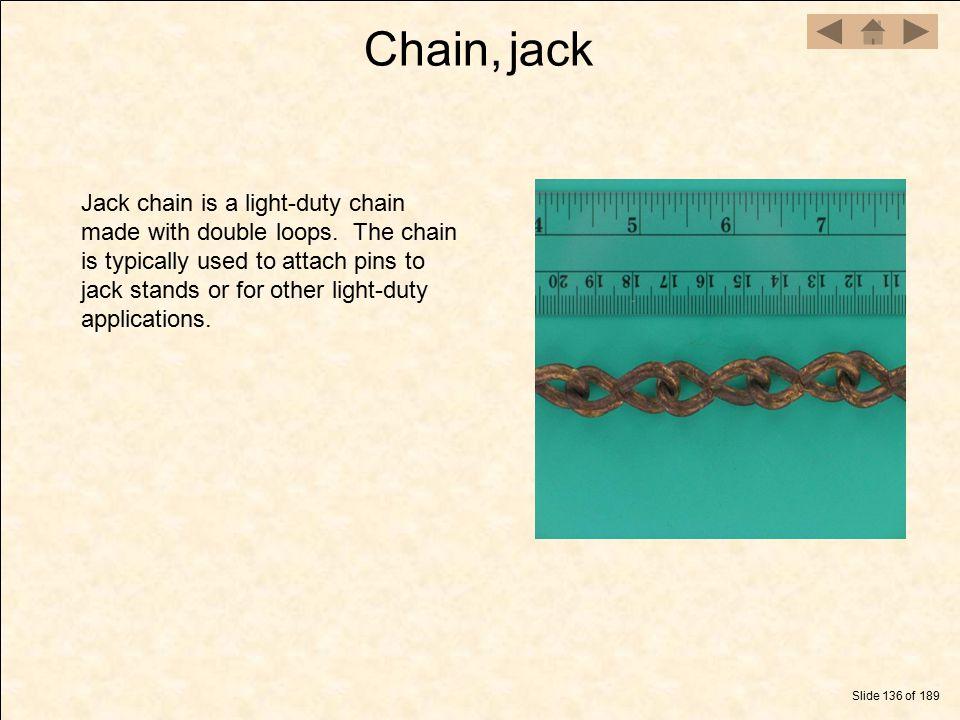 Chain, jack