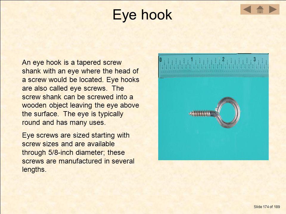 Eye hook