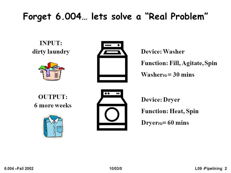Forget 6.004… lets solve a Real Problem