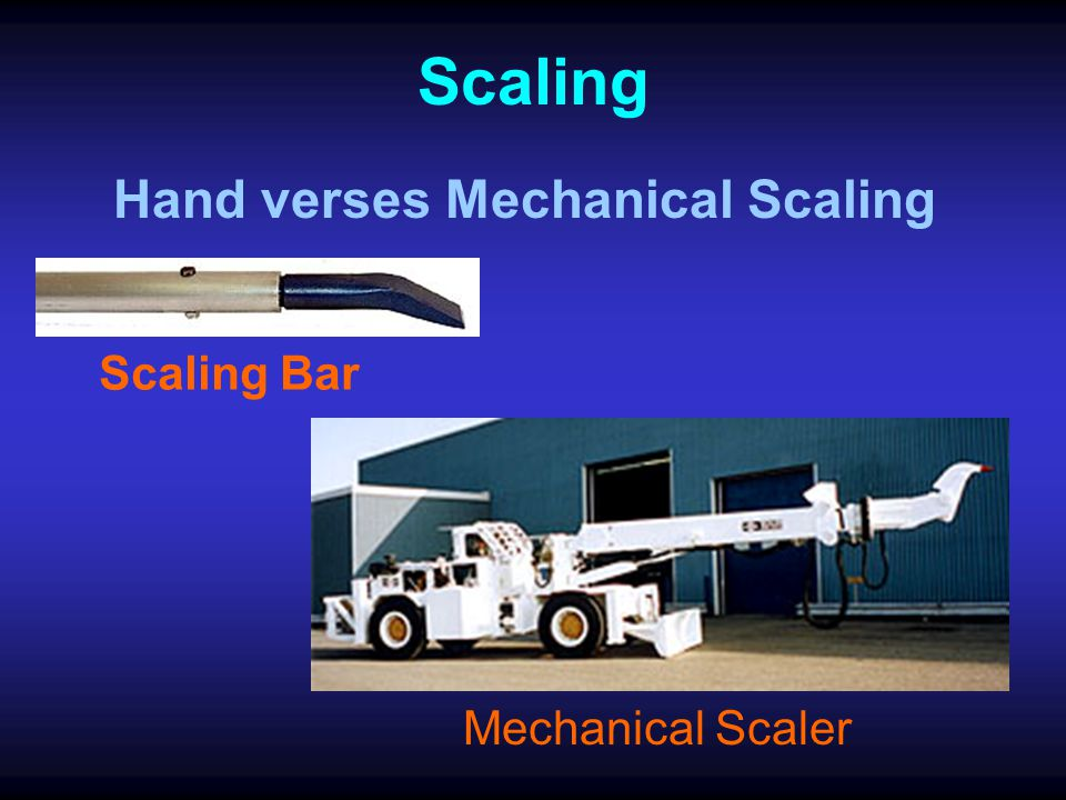Hand verses Mechanical Scaling