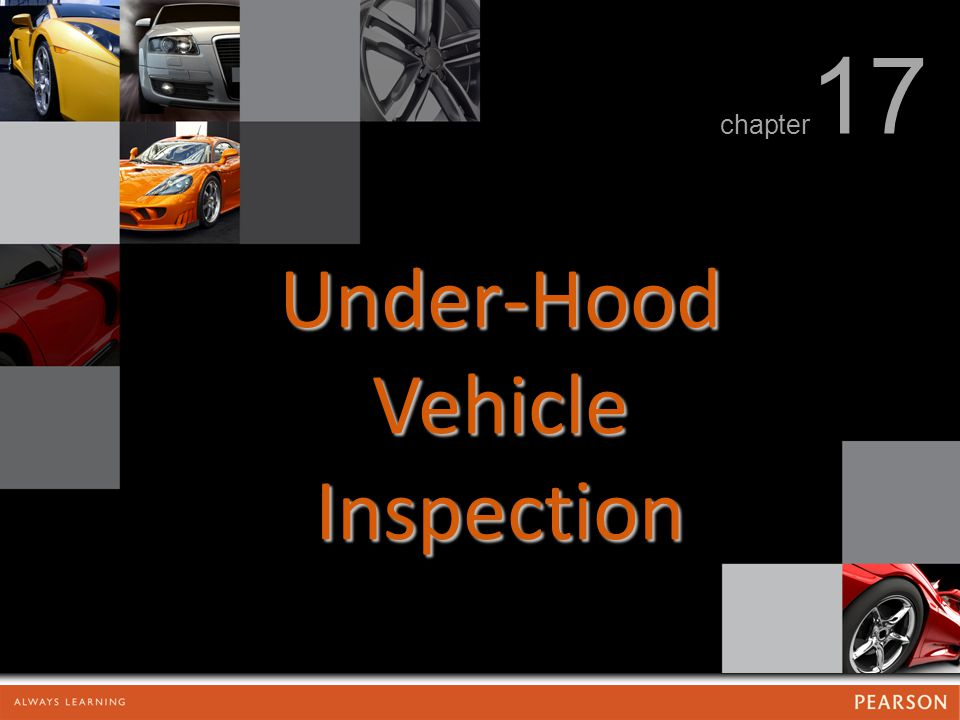 Under-Hood Vehicle Inspection