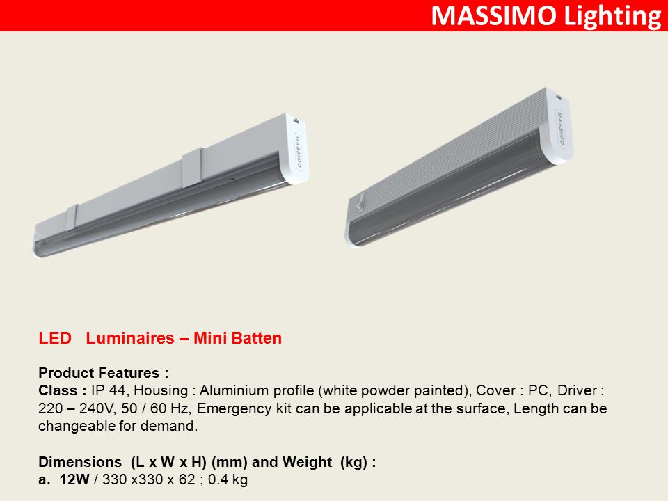 MASSIMO Lighting