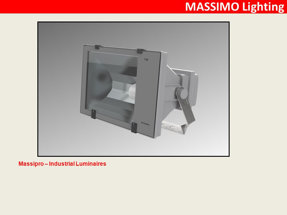 MASSIMO Lighting Massipro – Industrial Luminaires
