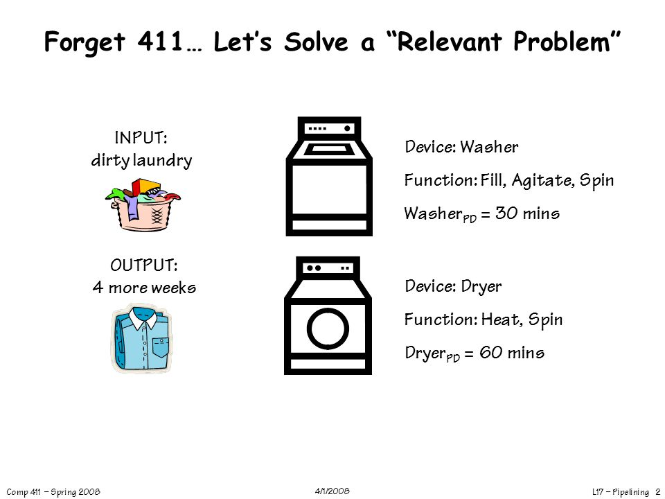 Forget 411… Let's Solve a Relevant Problem