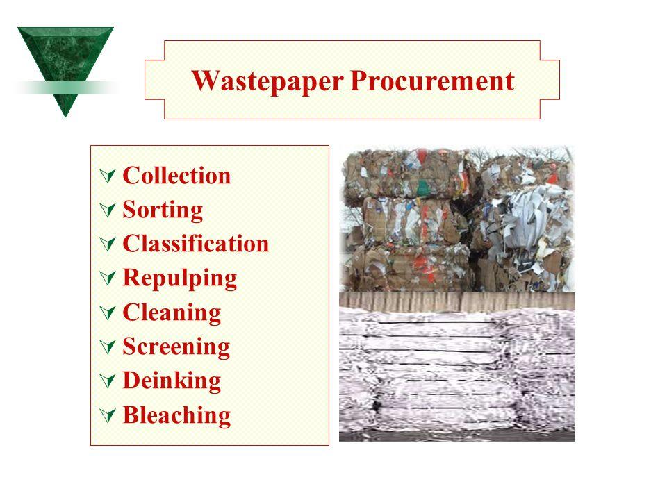 Wastepaper Procurement