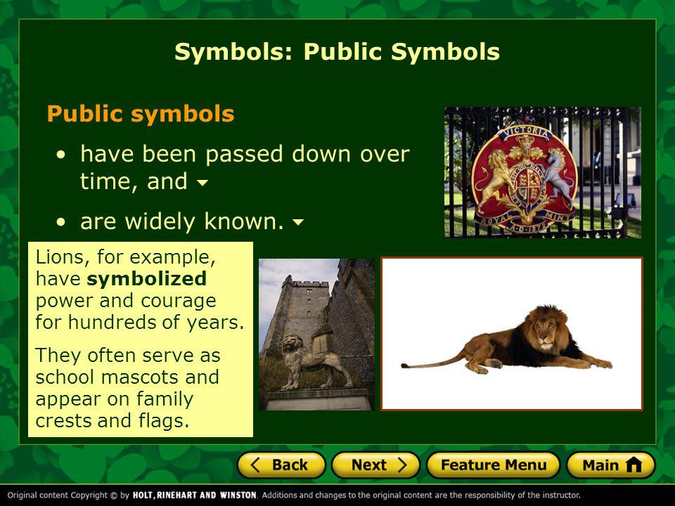 Symbols: Public Symbols